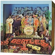 The Beatles Sgt. Pepper's Lonely Hearts Club Band PAPER DIORAMA Kit NEW Japan