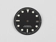 Dial for ETA 2836 ETA 2824 movement Submariner Diver style 29,5 mm