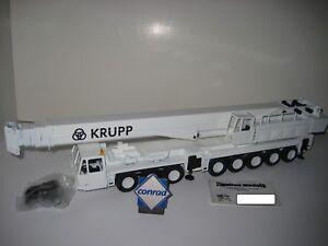 Krupp Kmk 8350 Autokran Blanc #2077.5 Conrad 1:50