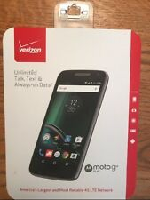 """VERIZON MOTO G4 CELL PHONE 5"""" TOUCHSCREEN 8mp rear facing camera NEW"""