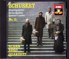 ALBAN BERG QUARTETT: SCHUBERT String Quartet No.15 D.887 Streichquartett EMI CD
