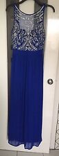 Royal Blue Prom / Bridesmaid/ Party Dress UK size 18 By Quiz