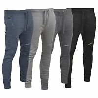 Mens Firetrap Slim Fit Joggers Jogging Bottoms Track Sweat Pants, Sport Pants