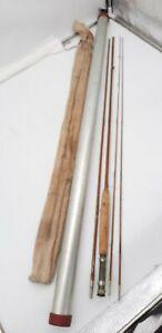 Vintage Heddon #13 Split Bamboo Fishing Rod 2 1/2F 9ft ~ Bag ~Tube & 2 Tips