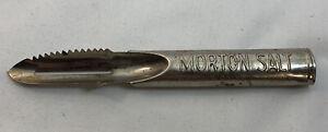 Vintage Morton Salt Kitchen Knife Peeler Scraper Metal USA Rustic