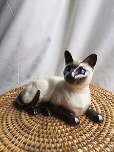 Royal Doulton Siamese Cat Ceramic Figurine No 1559 VGC