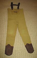 Hodgman Chest Waders Neoprene Fishing Water Size XL Adjustable Overall Sock Feet