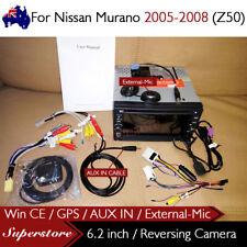 "6.2"" CAR DVD GPS Player Head Unit Navi For Nissan Murano 2005-2008 (Z50)"