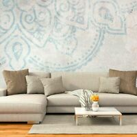 Vlies Fototapete Dekoration Mandala Schlafzimmer WANDBILDER Tapete XXL weiß