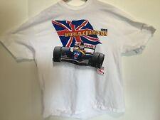 Vintage 1992 Nigel Mansell Formula 1 Championship Tee Shirt