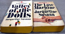 Valley of the Dolls & The Love Machine by Susann, Jacqueline Vtg Paperback Book