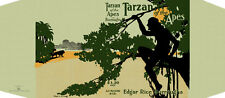 Burroughs, Edgar Rice. TARZAN OF THE APES facsimile dust jacket 1st McClurg Ed.