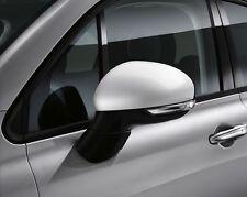 FIAT 500X COPPIA PORTA ALA SPECCHIO copre sostegno Caps Nuovo & Autentico Bianco 50903554