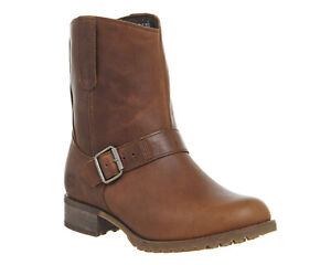 Womens Timberland Tan Leather Pull On Ankle Boots Size UK 5 *Ex-Display