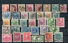 Österreich gestempeltes Lot auf Steckkarte - b3920