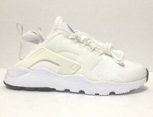 Nike Air Huarache Run Ultra Running Shoes White Womens 819151-102 Size 6M
