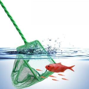 Fishing Catching Net Small Goldfish Pond Care Fish Tank Aquarium S1B1