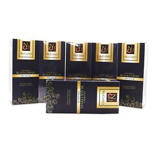 Ganoderma Black Coffee Nugano Schwarzer Kaffee Organo Gold Kostenloser Versand