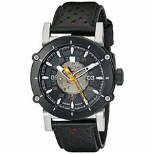 """Zodiac ZO8572 """"ZMX-02"""" Automatic Swiss Movement Leather-Strap Watch"""