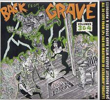 VA  Back from the Grave Volumes 3 & 4, CD Neu
