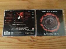 Axel Rudi Pell - Knights Live Brazilian Pressing 2CD