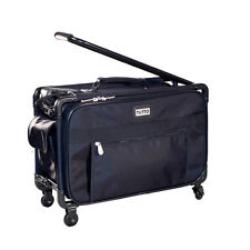 "Tutto 22"" Maximizer Carry-On Suiter Luggage 4022BST (Black) NEW"