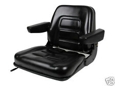 NEW BLACK SEAT FOR EXCAVATOR,FORKLIFT,SKID LOADER,BACKHOE,DOZER,TELEHANDLER #BU