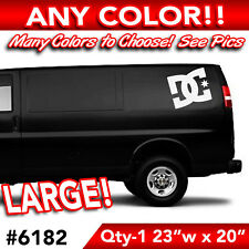 """DC SHOES LARGE WALL AUTO DECAL STICKER 23""""wx20h"""