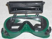 10 Green Safety Goggles Flip Up Front 2x4 1/4 Shade 5