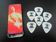 6 JIMI HENDRIX GUITAR PICKS AND TIN HOLDER * BRAND NEW *