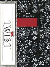 "ChiaoGoo ::TWIST 4"" Red Lace Interchangeable:: Complete: US 2-15 (2.75-10.0 mm)"