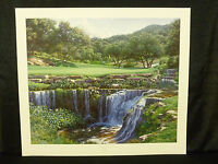 Larry Dyke Signed The Sixteenth At Barton Creek Golf Limited Edition Lithograph
