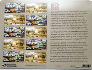 12 THE CIVIL WAR 1862 FOREVER STAMPS MNH USPS PACKAGING
