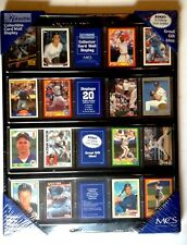 Robarb's Collectible Sports Trading Card Wall Display Bonus! 16 Collector Cards