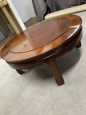 More details for chinese hardwood circular coffe table