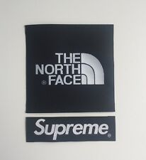 The North Face X Supreme Black Arm Patch TNF Sew On/Glue On For Jacket Or Fleece