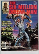 SIX MILLION DOLLAR MAN #2 1976 MAGAZINE Mark Walberg Movie
