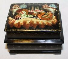 Russian Lacquer Box - Double Opening