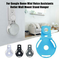 For Google Mini Voice Assistants Wall Outlet Mount Holder Hanger Stand Grip d6