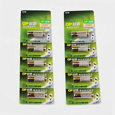 10 pc GP A23 12V Battery 23AE 23A MN21 E23A K23A