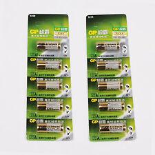 10 x GP A23 12V Baterías 23AE 23A MN21 E23A K23A ,Alcalino