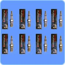 NEW BOSCH SPARK PLUG 4304 PLATINUM+2 SET OF (8) For Ford GMC Chevrolet Pontiac
