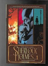 Sherlock Holmes vol. 1 The Trail of Sherlock Holmes HC hardcover Leah Moore