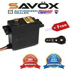 Savox SC-1201MG Hi Torque Tall Case Digital Servo + Free ALU servo horn Black