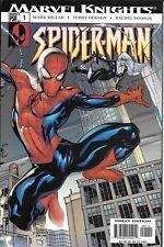 Spider-Man Comic Issue 1 Marvel Knights 2004 Mark Millar Terry And Rachel Dodson