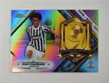 2018-19 Topps Chrome UEFA Champions League Debut #CLD-JC Juan Cuadrado