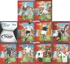 Austria 2460-2469 mint never hinged mnh 2004 Football
