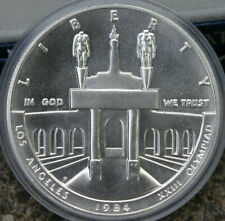1984 P Olympic Silver Dollar Commemorative Coin ONLY No Box 90% Silver