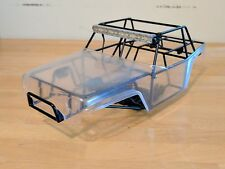 Custom Mattzilla axial wraith jeep metal chassis, G6 body and Vanquish light bar