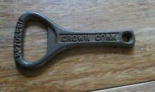 Rare Antique Vintage Old Metal Bottle CROWN CORK OPENER Ro702661 beer soda